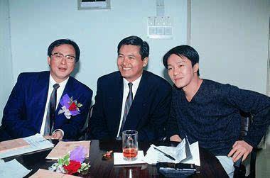 老照片:杜琪峰、周润发和周星驰