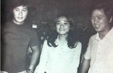 老照片:许冠杰、张艾嘉、王羽