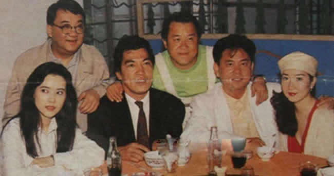老照片:蓝洁瑛、黎小田、成奎安、曾志伟、陈百祥、黄杏秀