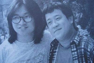 老照片:陈可辛和曾志伟