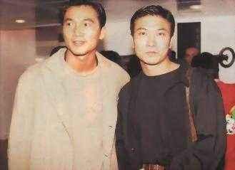 老照片:邹兆龙和钱小豪