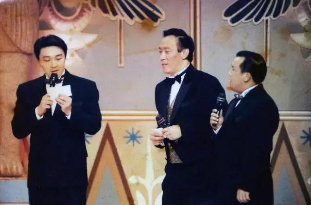 老照片:周星驰、曾志伟、陈欣健