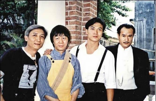 老照片:刘观伟、许冠英、钱小豪,林正英