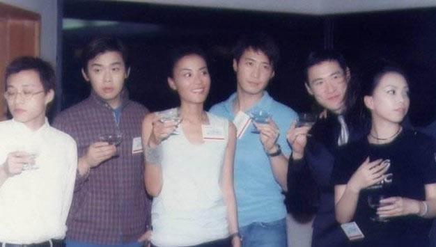 老照片:林夕、雷颂德、王菲、黎明、张学友、张惠妹