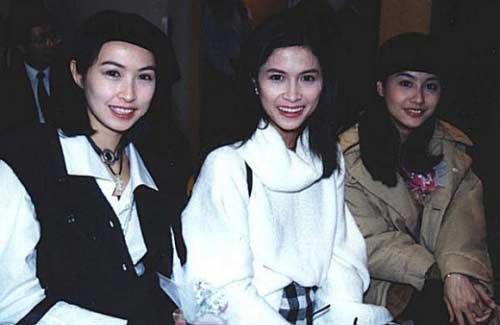老照片:郭蔼明、邵美琪、朱茵