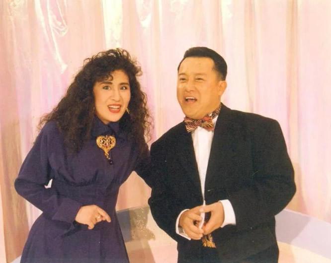 老照片:曾志伟和吴君如