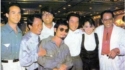 老照片:李子雄、吴宇森、周润发、徐克、张国荣、朱宝意、狄龙