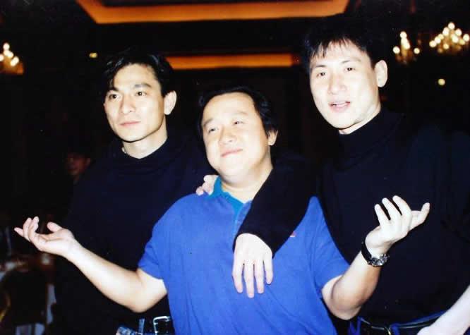 老照片:刘德华、曾志伟、张学友