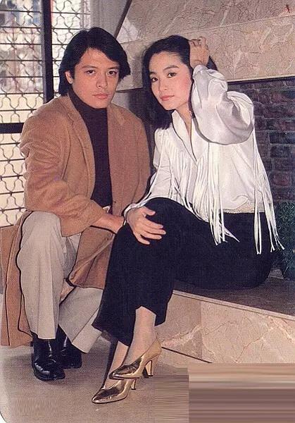 老照片:刘文正和林青霞