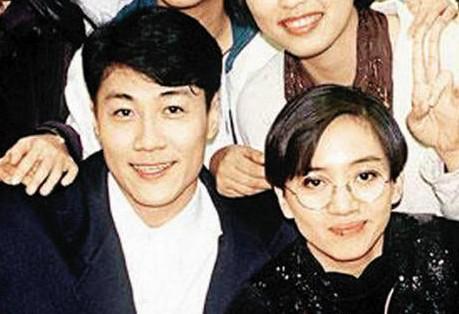 老照片:林国斌和梅艳芳