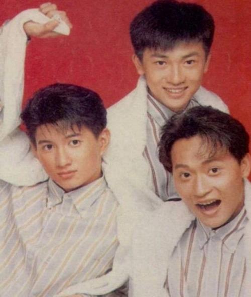 老照片:小虎队(苏有朋、吴奇隆、陈志朋)