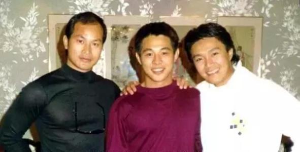 老照片:狄威、李连杰、周星驰