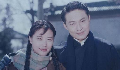 老照片:马景涛和周海媚