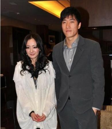 老照片:刘翔和杨幂