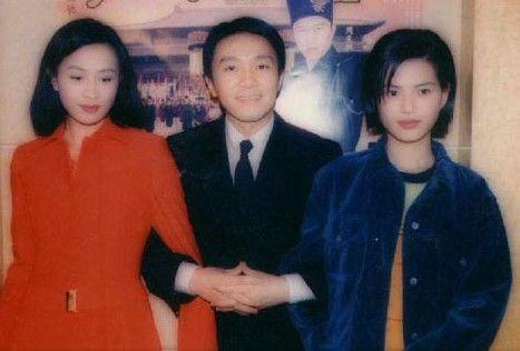 老照片:刘嘉玲、周星驰、李若彤