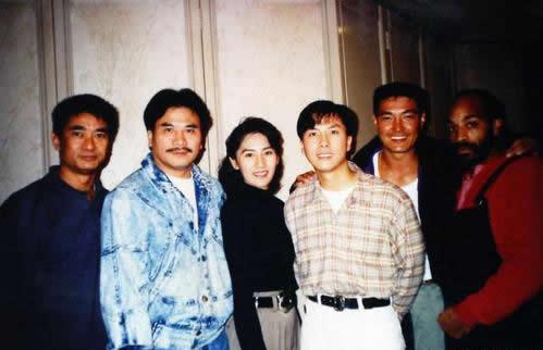 老照片:甄子丹、卢惠光,其他人你认识吗?