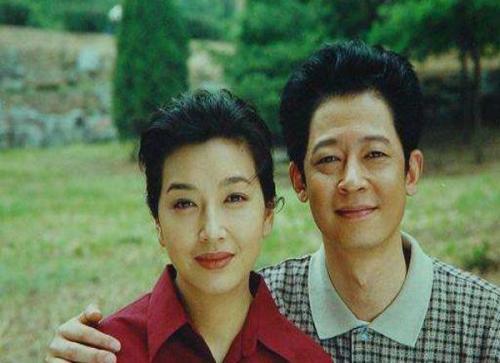 老照片:江珊和王志文