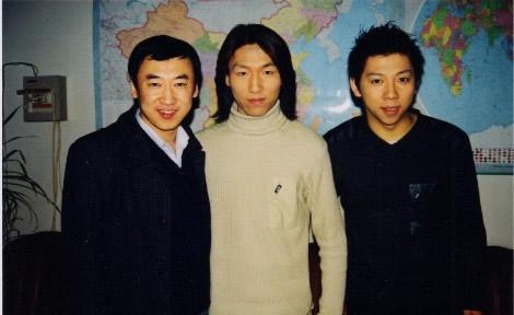 老照片:麦伦、陈羽凡、胡海泉