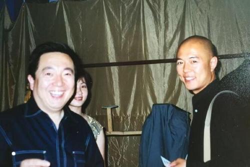 老照片:董浩和张铁林
