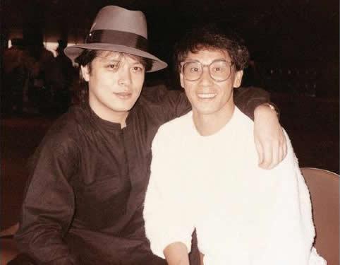 老照片:刘文正和周龙章