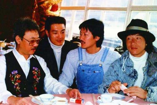 老照片:陈自强、卢惠光、陈勋奇、成龙