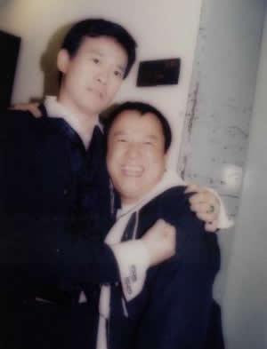 老照片:郑少秋和曾志伟